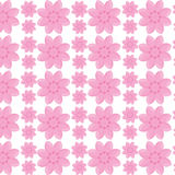 Flower garden seamless pattern design Royalty Free Stock Images
