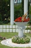 Flower gardening Stock Photography