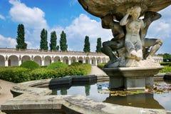 Flower gardens (UNESCO), Kromeriz, Czech republic Stock Photo