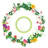 Flower garland Stock Photos