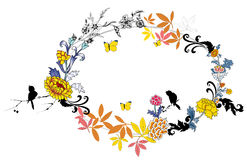 Flower garland Stock Images