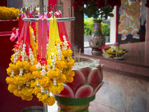 Flower garland Stock Image