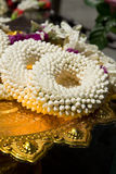 Flower garlands Royalty Free Stock Photography