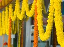 Flower garlands Stock Photos