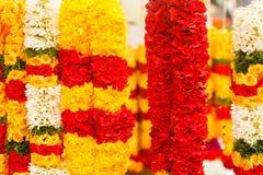 Flower garlands Stock Image