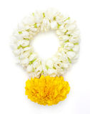 Flower garlands in thai style Royalty Free Stock Photography