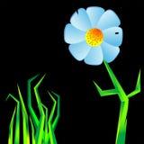 Flower geometric Stock Image