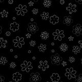 flower geometric seamless pattern. Fashion graphic. Background design. Modern stylish abstract texture. Template for prints, texti Royalty Free Stock Photography