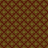 Flower geometric seamless pattern. Geometric Pattern with hand drawn elements in green and brown color. Perfect for wallpapers, textile, wrapping papers Vector Illustration