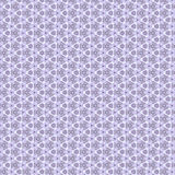 Flower and geometrical ornament, lilac Royalty Free Stock Images