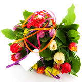 Flower gift royalty free stock photography