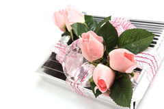 Flower gift Stock Photos