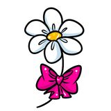 Flower gift bow cartoon Stock Photo
