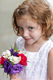 Flower Girl Stock Images