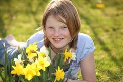 Flower girl Stock Photos