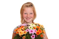 Flower girl Royalty Free Stock Images