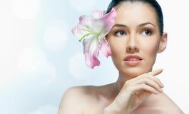 Flower girl Stock Image