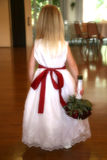 Flower girl Stock Photo