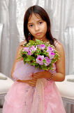 Flower girl Royalty Free Stock Image