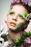 Flower girl. Stock Images