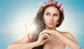 Flower girl Stock Images
