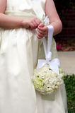 Flower girl bouquet Royalty Free Stock Photo