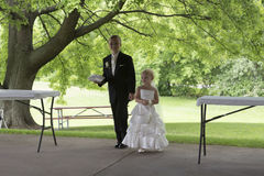 Flower Girl and Ring Bearer Stock Image