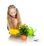 Flower Girl sprinkles Royalty Free Stock Photos