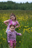 Flower girls 6 Royalty Free Stock Photo