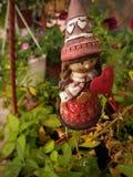 Flower gnome stock photos