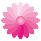 Flower Gradient. Using a flower for the illustration of the gradient Stock Photo