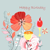 Flower Greeting Card Stock Photography