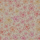 Flower Grunge Background. A funky fun textured background with flowers Royalty Free Stock Image