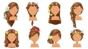 Free Flower Hair Stock Image - 126763811