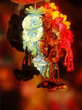 Flower Hair Ribbons Hanging royalty free stock photo