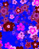 Flower of happiness, floral background Royalty Free Stock Images
