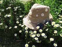Flower hat in Garden Stock Photography