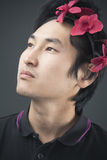 Flower headband Stock Photography
