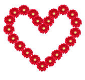 Flower heart Stock Photos