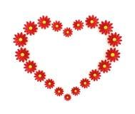 Flower Heart stock illustration