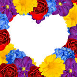 Flower heart Royalty Free Stock Photo