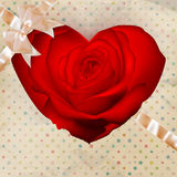 Flower heart. EPS 10 Royalty Free Stock Photography