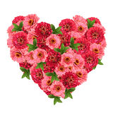 Flower heart Royalty Free Stock Images