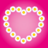 Flower Heart Love Mothers Valentines Day Royalty Free Stock Image