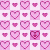 Flower hearts Stock Photography