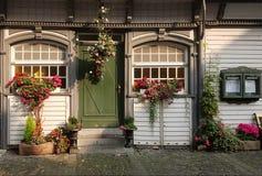 Flower, House, Home, Door stock photos