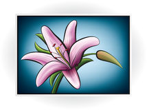 Flower Icon Stock Photo