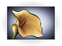 Flower Icon Royalty Free Stock Photos
