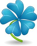 Flower icon. Vector of Blue Flower Icon Stock Photography