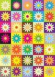 Flower icon Stock Photo